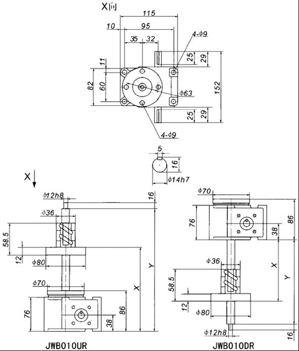 单相升降机工作电路原理